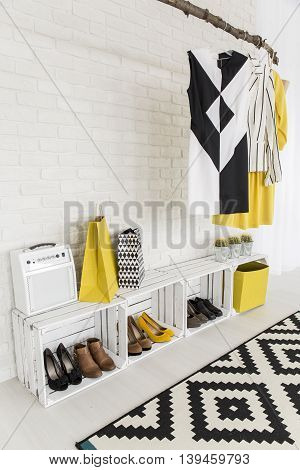 Creative Ideas For Modern Woman's Hall Storage Space