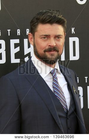 LOS ANGELES - JUL 20:  Karl Urban at the