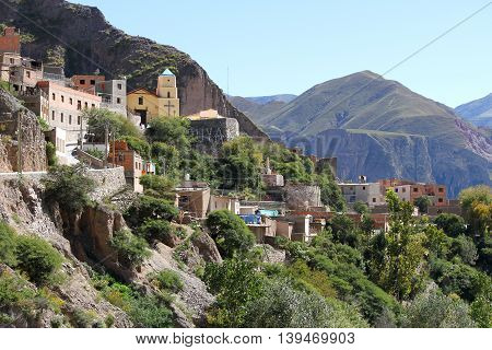 The little town of Iruya in Salta Argentina South america.