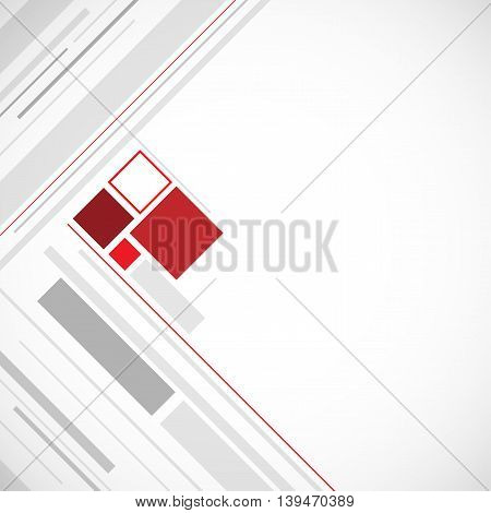 minimalism square grey abstract background. Vector Illustration