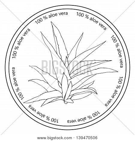 Aloe Vera Badge.