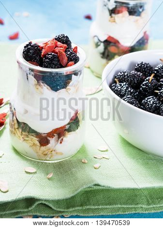 Yogurt With Goji Berries