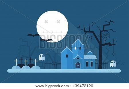 Halloween Mystic Landscape