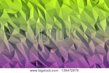 Low poly background for card poster or wallpaper. Multicolor Design Templates.