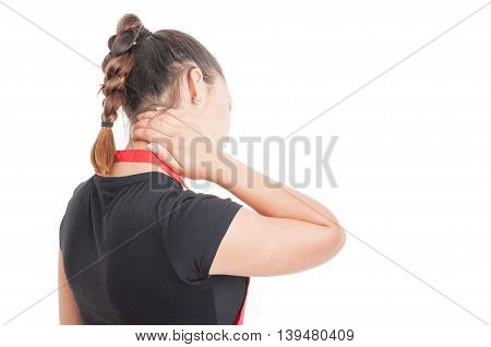 Stressed Young Employee Looking Exhausted