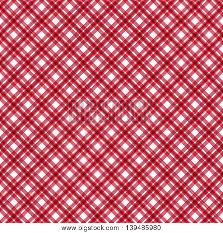 Seamless pattern check fabric background .Vector illustration