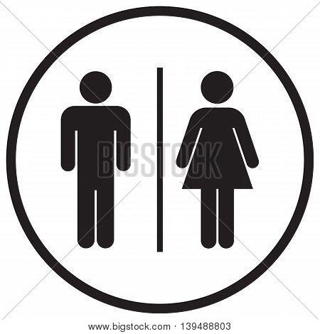 Bathroom Sign Icon computer icon public restroom people symbol