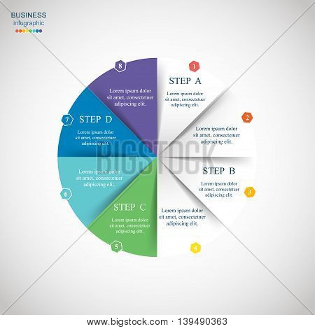 Vector Circle Infographic