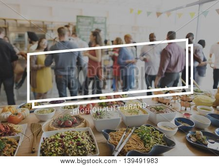 Dining Friends Happiness Togetherness Concept