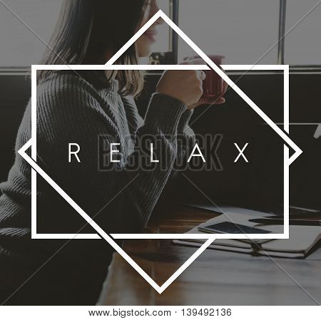 Relax Relaxation Happiness Life Concept