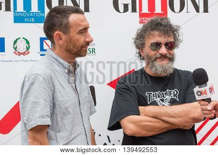 Directors Marco Manetti And Antonio Manetti