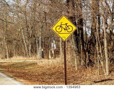 Bike Path Warning