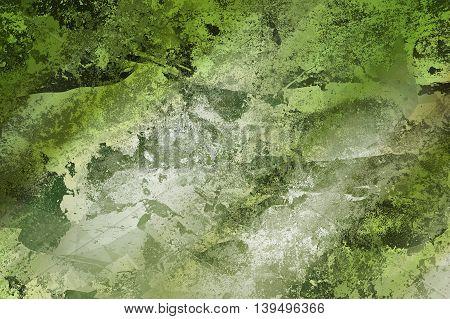 art grunge green ragged abstract pattern illustration background