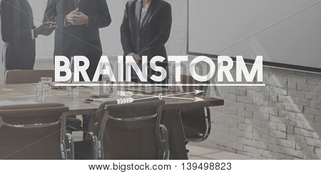 Brainstorm Plan Analysis Ideas Innovation Concept