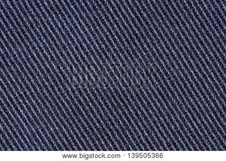 Cotton denim jeans fabric texture background, close up
