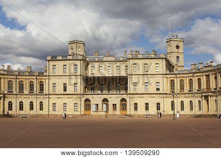 Gatchina. Big Gatchina palace. Leningrad region. Russia