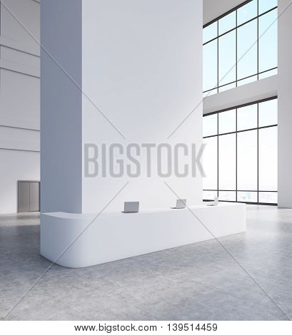 Lobby Of Big Firm