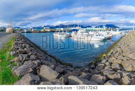 The Harbor Of Hofn