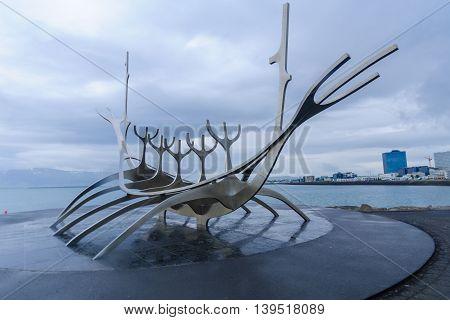 Sun Voyager Monument, In Reykjavik