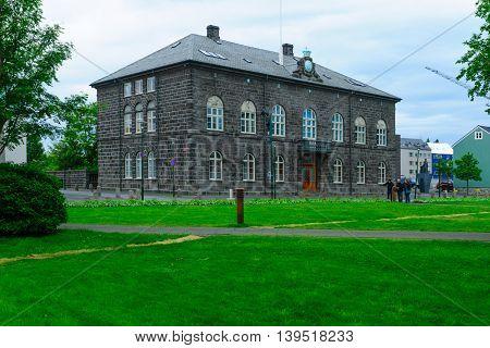 Parliament (althingi) House, Reykjavik