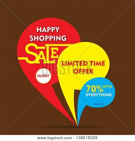 limited time offer sale on everything banner  design vector