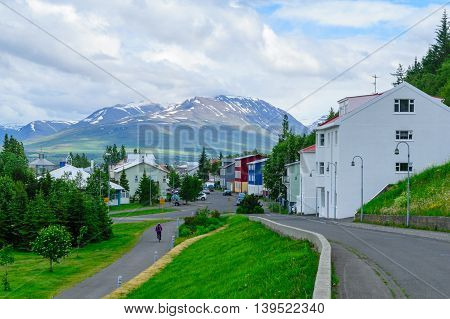 Typical Old Houses, In Akureyri