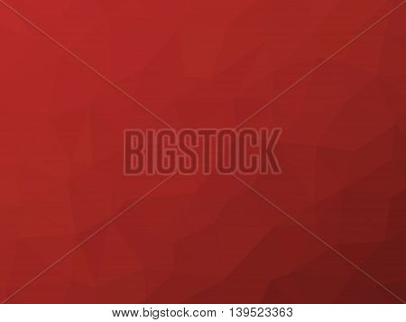 Crimson red polygon shaped background  for professional use.