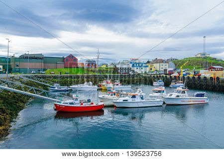 The Fishing Port, In Stykkisholmur