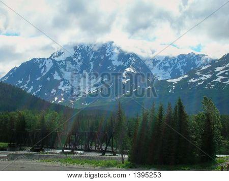 Alaska Mountains And Railway