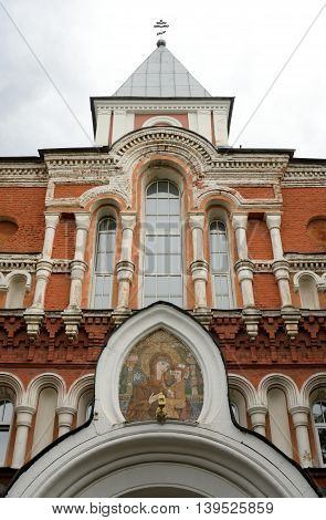 Old Holy Trinity Sergius Maritime Men Monastery in St.Petersburg Russia. Founded in 1734.