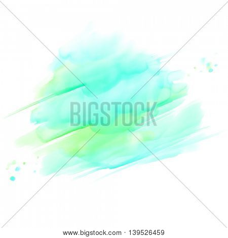 Abstract watercolor splash background