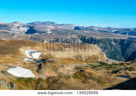 Beartooth Mountains Landscape