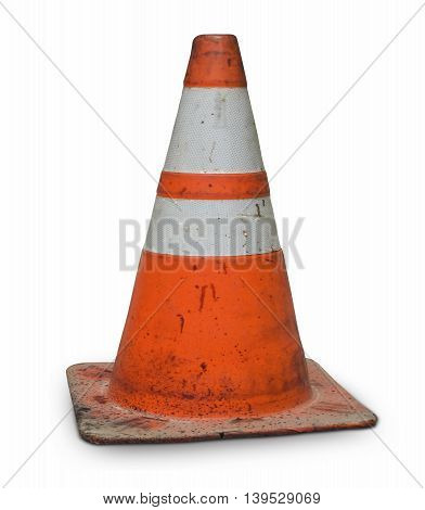 real dirty traffic cone orange 404 error web page not found