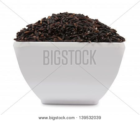 Black Rice On Cup