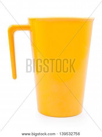 Yellow Plastic Cup Crash
