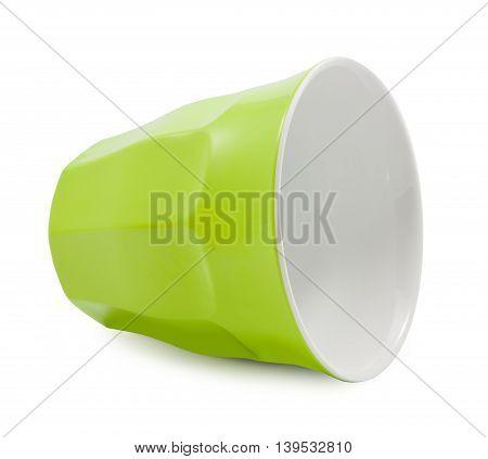 Green Plastic Cup Crash