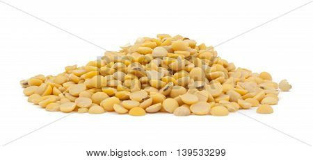 Dried Soybean On Isolated