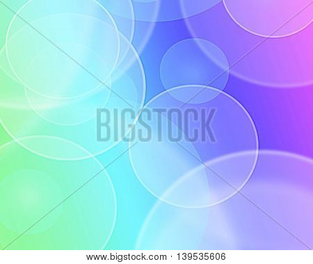 Blue green purple and pink abstract background blur