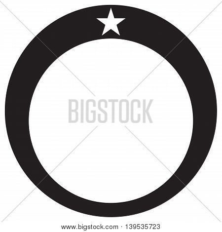 Diamond Ring Star wedding ring diamond ring symbol vector