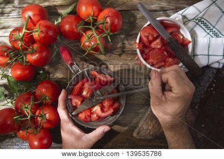 Passed Round Tomato