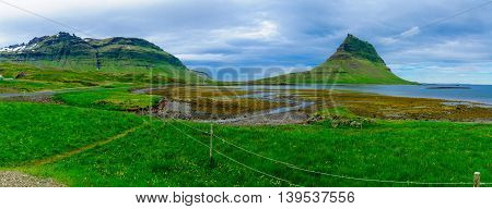 Landscape And The Kirkjufell Mountain
