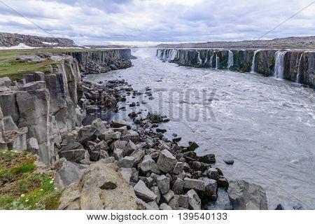 Selfoss Waterfall, Northeast Iceland