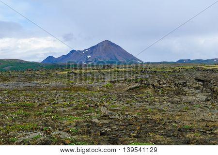 Krafla Volcano. Near Lake Myvatn