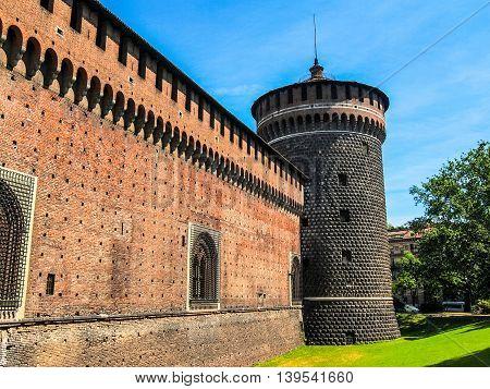 Castello Sforzesco, Milan Hdr