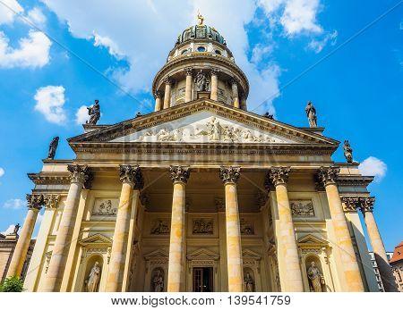 Franzoesischer Dom In Berlin Hdr