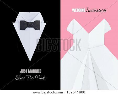 Origami Wedding Symbol