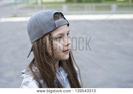 Urban Girl Portrait