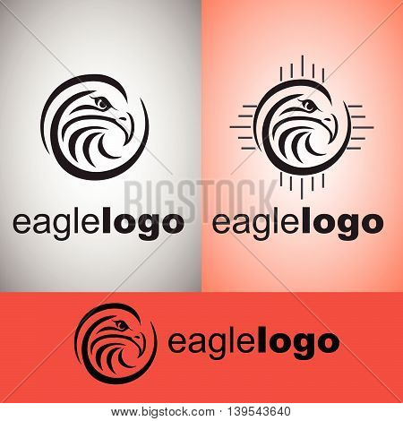 eagle  logo concept designed in a simple way so it can be use for multiple proposes like logo ,marks ,symbols or icons.