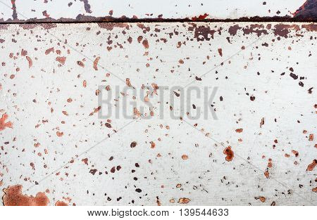 close up Grunge rustic textured metal background.