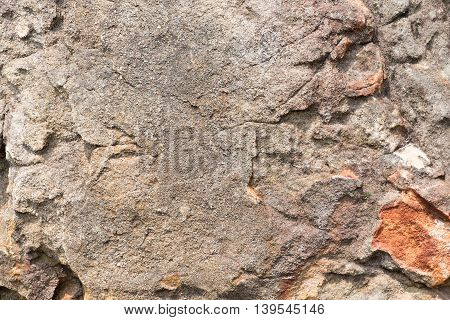 close up Rough Stone nature texture background.